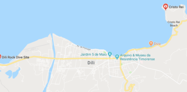 Dili city map