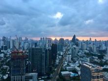 Rooftop View of Bangkok