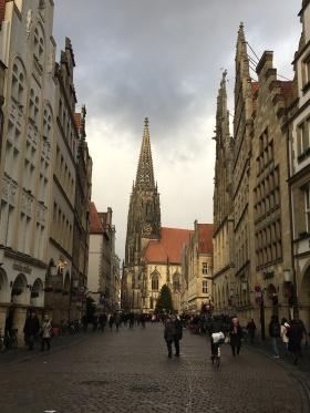 Prinzipalmarkt and Lamberti church